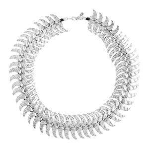 NWOT Uno de 50 Dancing cloud Spike collar necklace